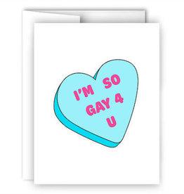 Card - So Gay 4 U