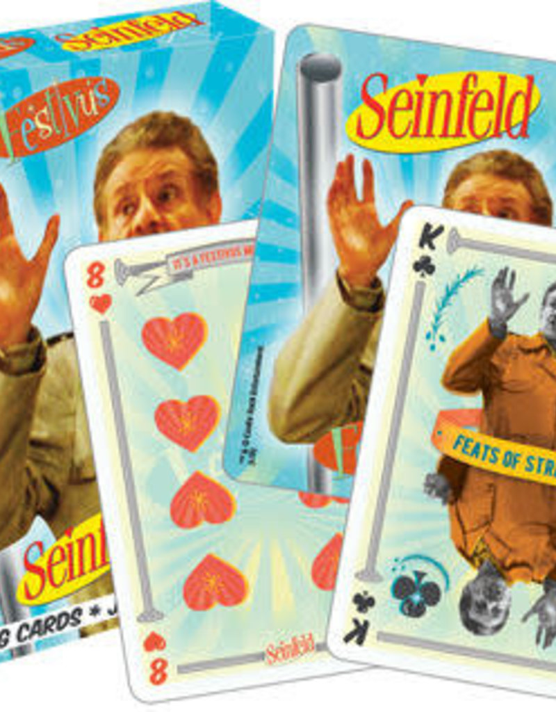 Playing Cards - Seinfeld