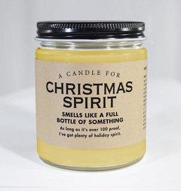 Candle - Christmas Spirit