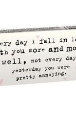 Gum - Yesteryday You Were Pretty Annoying