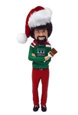 Kurt S. Adler Ornament - Bob Ross in Santa Hat