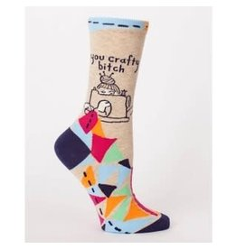 Socks (Womens) - You Crafty Bitch