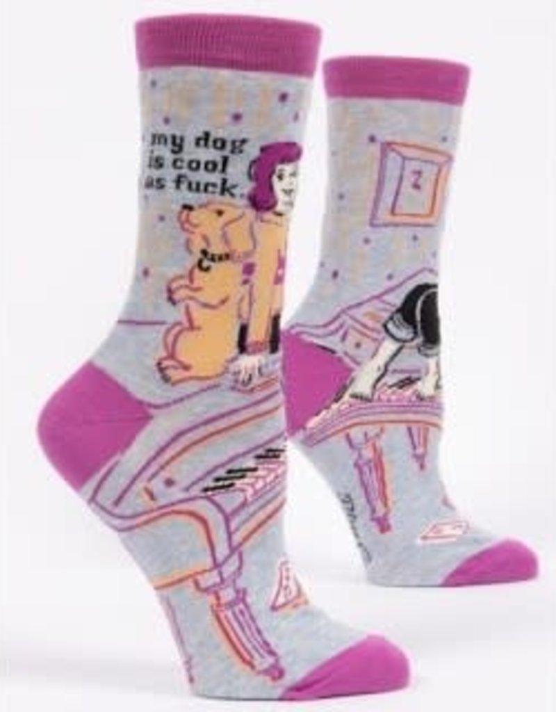 Womens Socks - My Dog Is Cool As Fuck