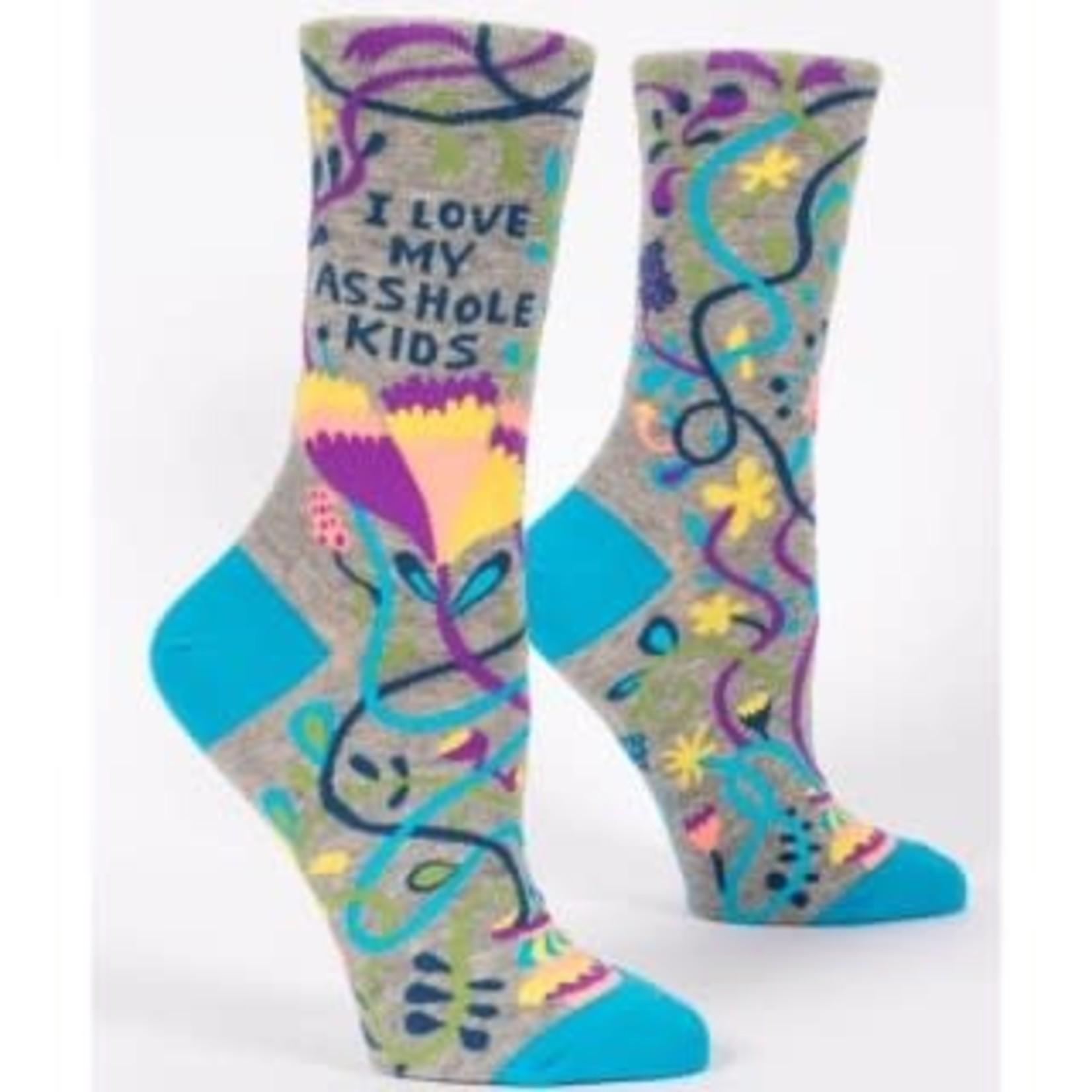 Socks (Womens) - Love My Asshole Kids