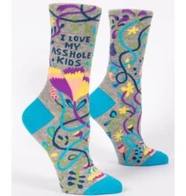 Socks (Womens) - Love My Asshole Kids