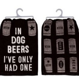 Tea Towel - In Dog Beers Ive Only Had One