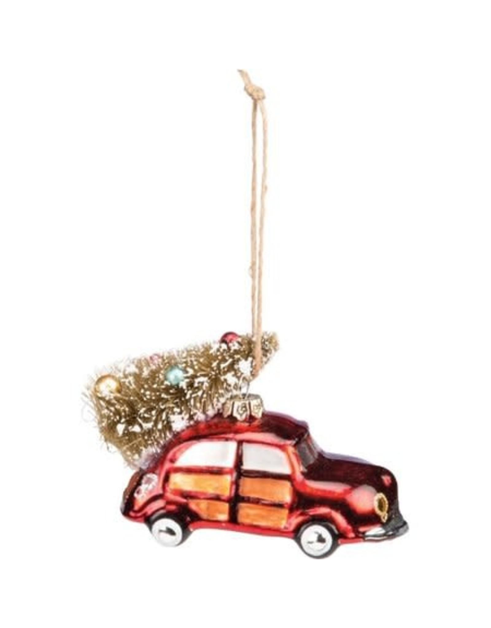 Ornament - Red Car