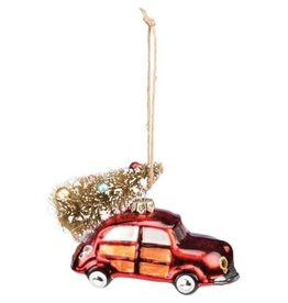 Ornament - Red Car