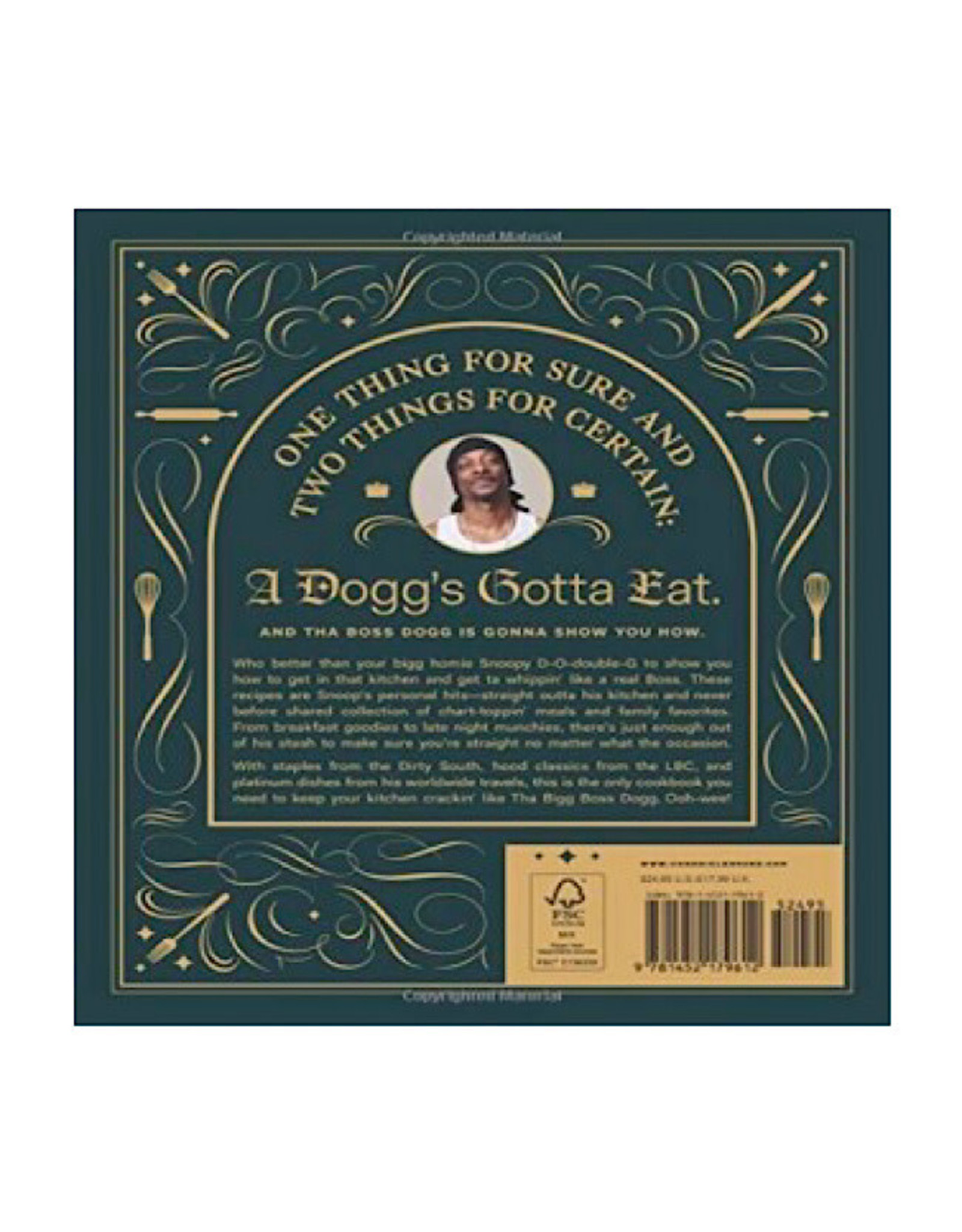Book - Snoop Dogg From Crook To Cook