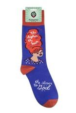 Socks (Unisex) - Higher The Hair, Closer To God