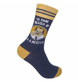 Socks (Unisex) - Ya Done Messed Up America