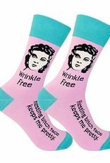 Socks (Unisex) - Wrinkle Free Resting Bitch Face Keeps Me Pretty