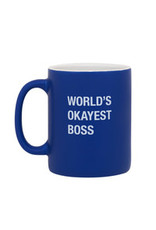 Mug - World's Okayest Boss