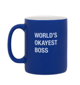Mug - World's Okayest Boss