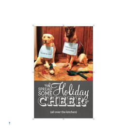 Card (Holiday) - Dogs Ate the Elf On The Shelf