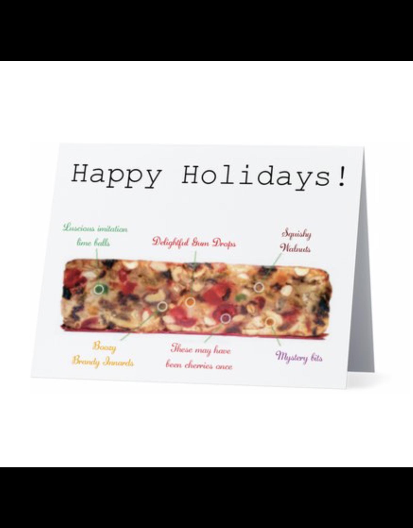 Card (Holiday) - Fruit Cake