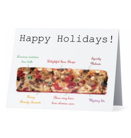 Card (Holiday) - Fruit Cake