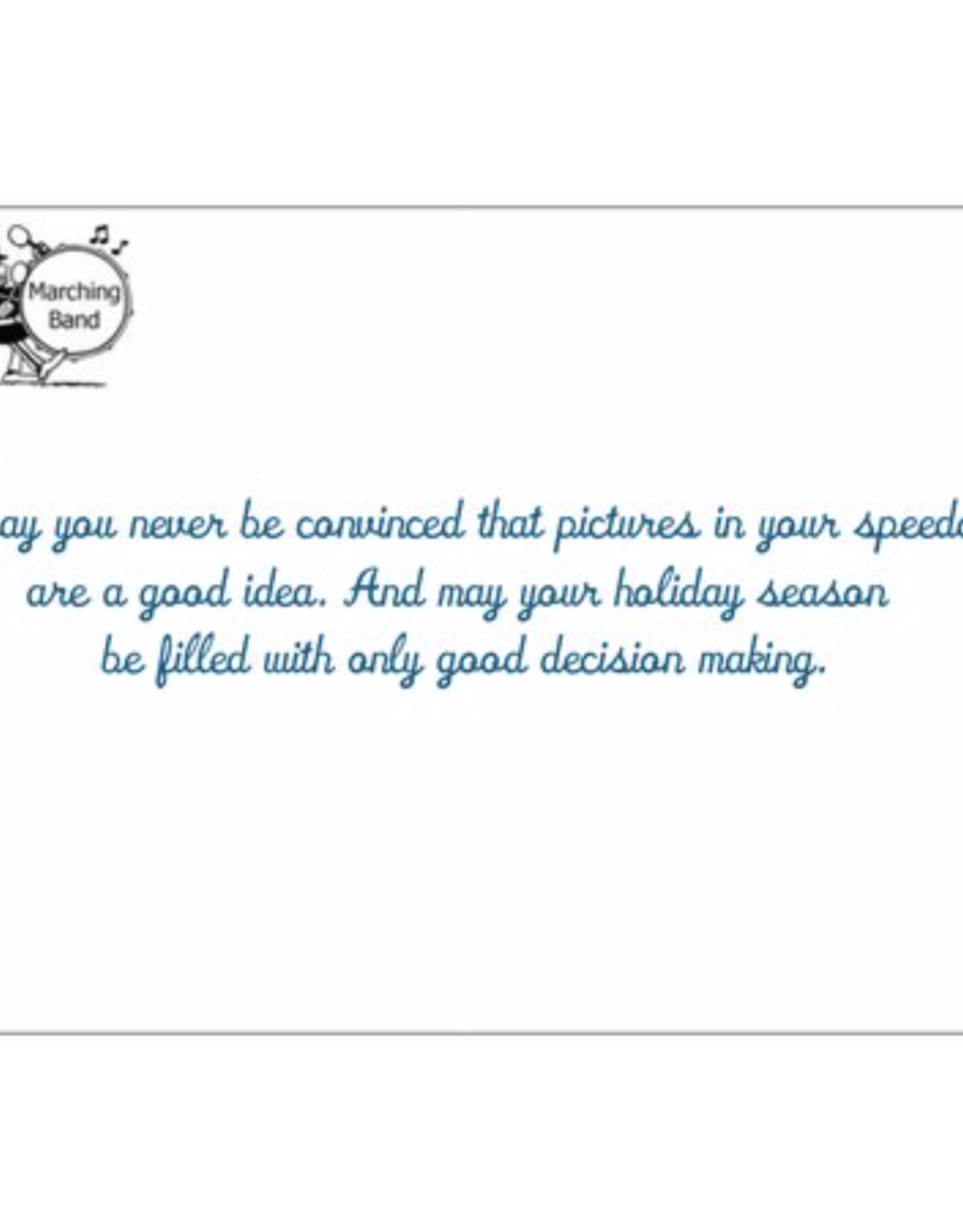 Card (Holiday) - Xmas Speedo