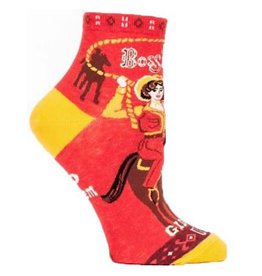 Socks (Womens) (Ankle) - Boss Lady