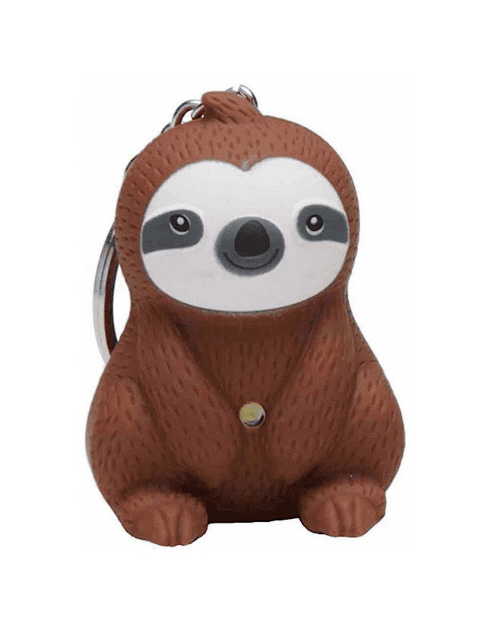 KeyChain (LED) - Sloth (Brown)