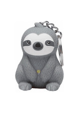 KeyChain (LED) - Sloth (Gray)