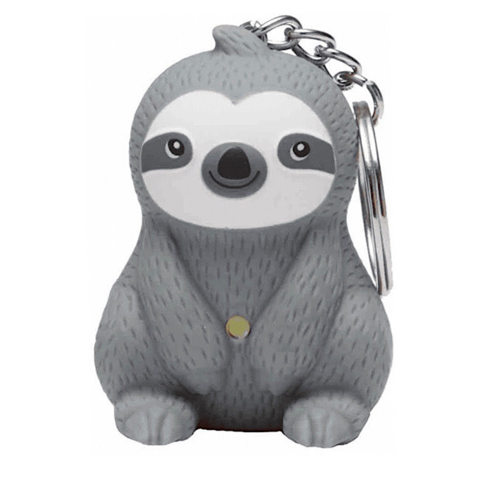 KeyChain (LED) - Sloth (Gray)