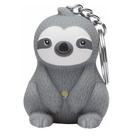 StreamLine KeyChain (LED) - Sloth (Gray)