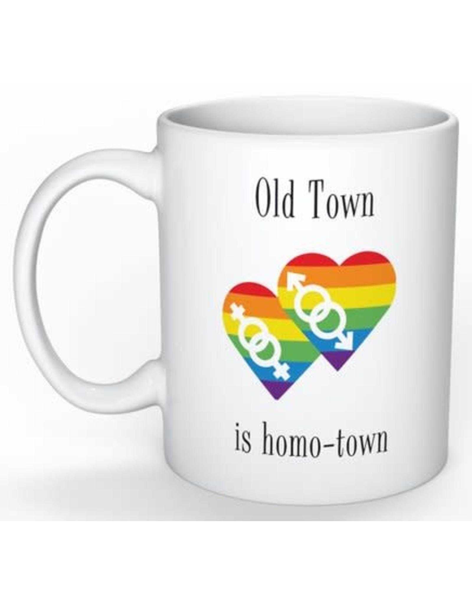 Mug - Old Town Is Homotown
