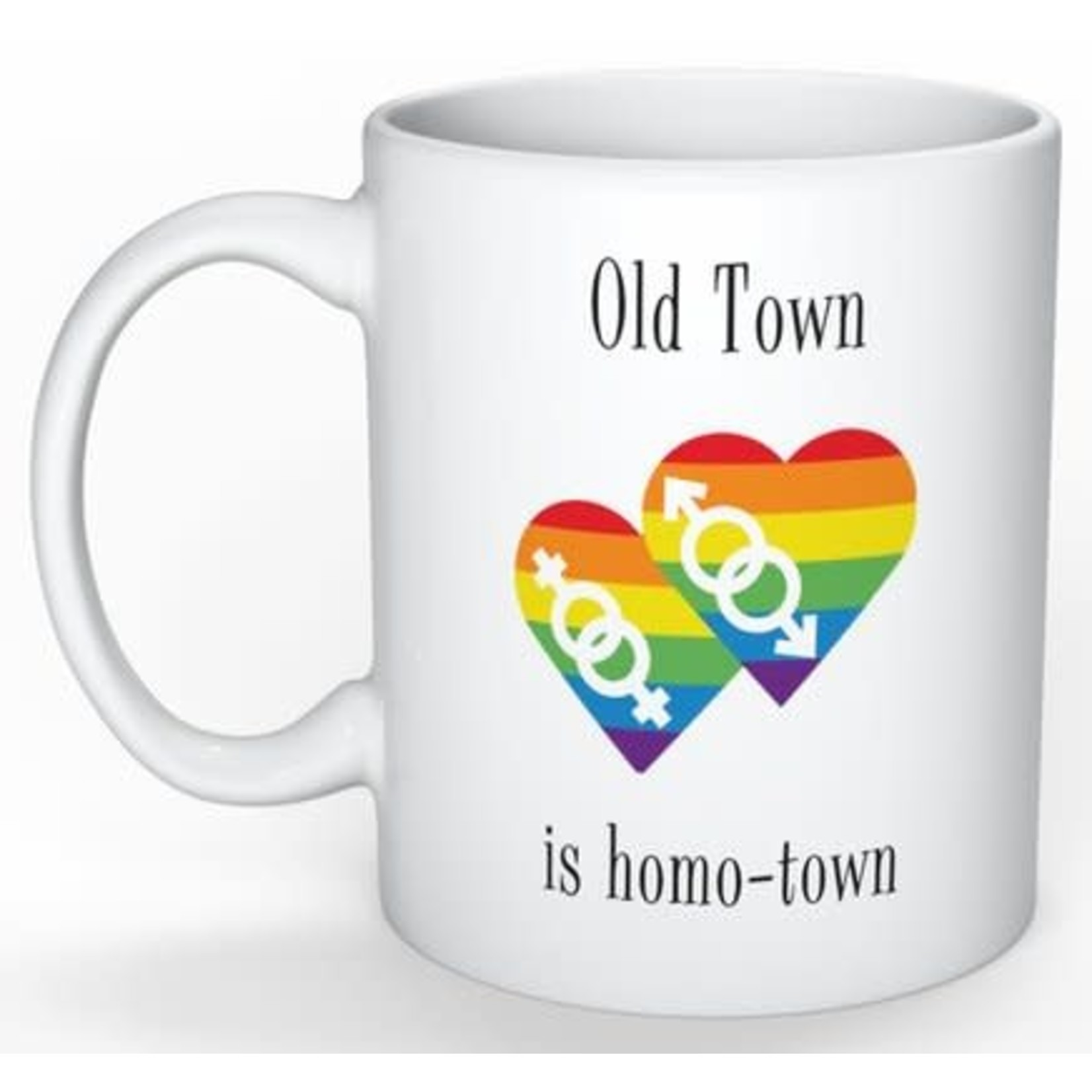 Bad Annie's Mug - Old Town Is Homotown
