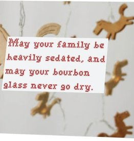 Card (Holiday) - Family And Bourbon