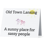 Bad Annie's Card #054 - Old Town Lansing, Sassy People
