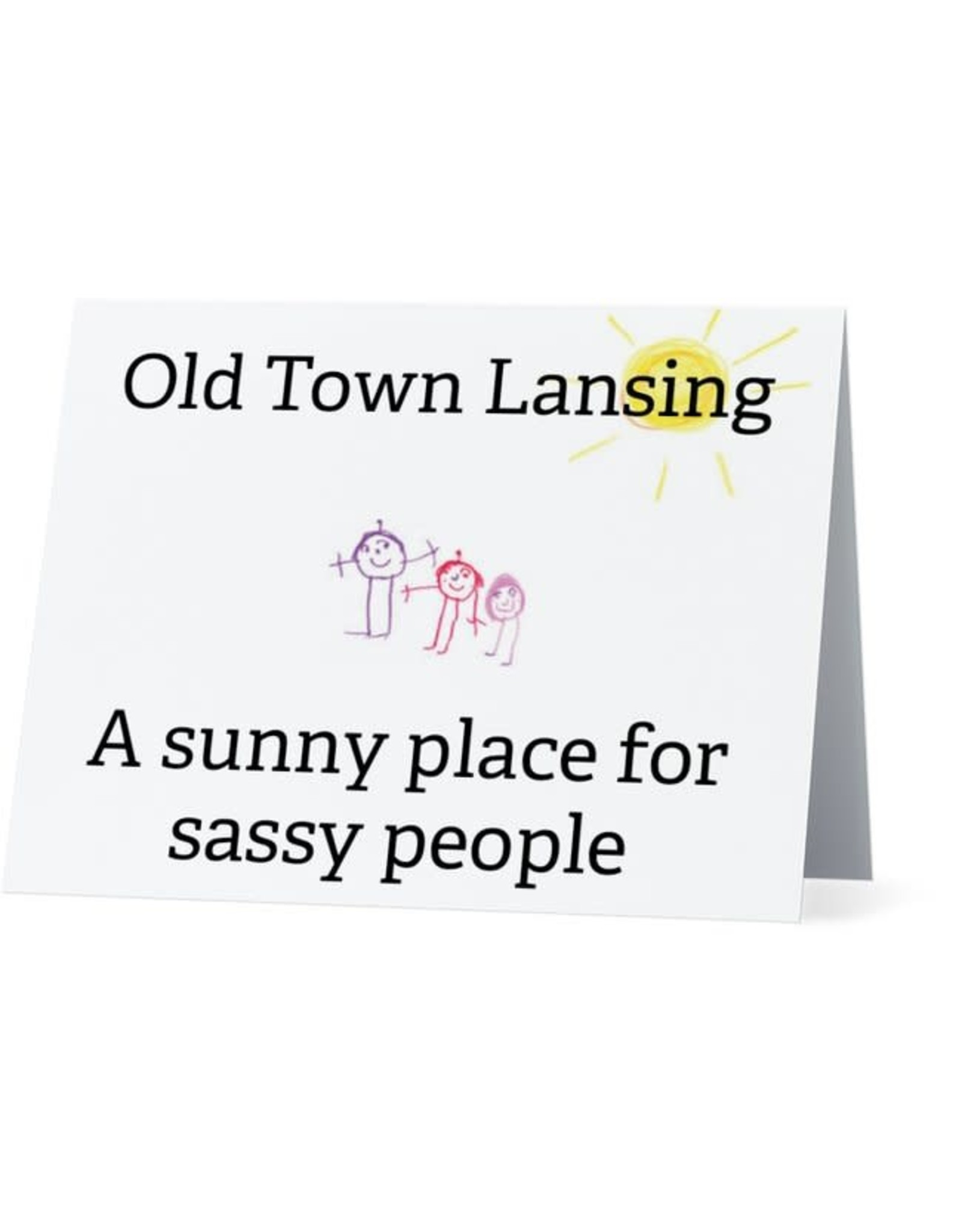 Card #054 - Old Town Lansing, Sassy People