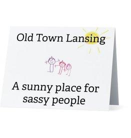Card #054 - Old Town Lansing, Sassy People