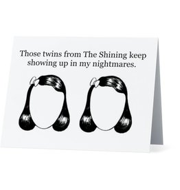 Card (Holiday) - The Shining Twins