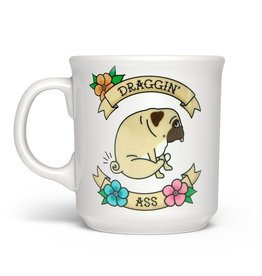 Mug - Draggin Ass (Pug)