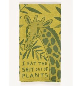 Dish Towel (Premium) - I Eat The Shit Out Of Plants