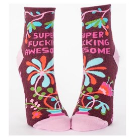 Socks (Womens) (Ankle) - Super Fucking Awesome