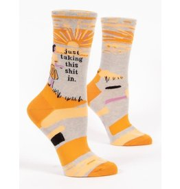 Socks (Womens) - Just Taking This Shit In