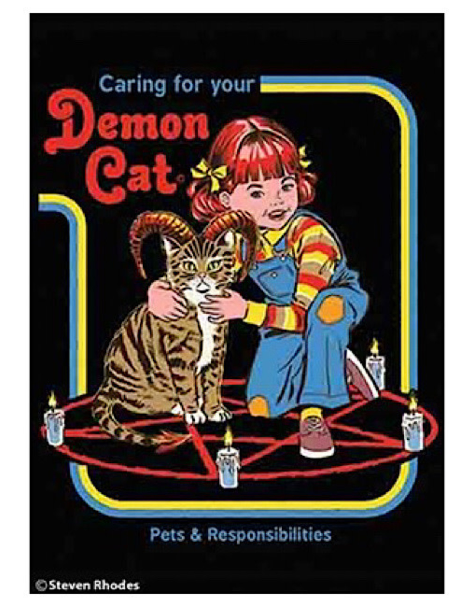 Magnet - Caring For Your Demon Cat
