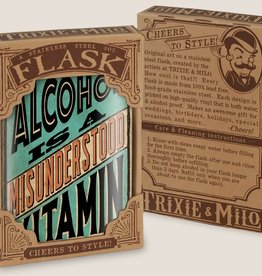 Flask - Alcohol Is A Misunderstood Vitamin
