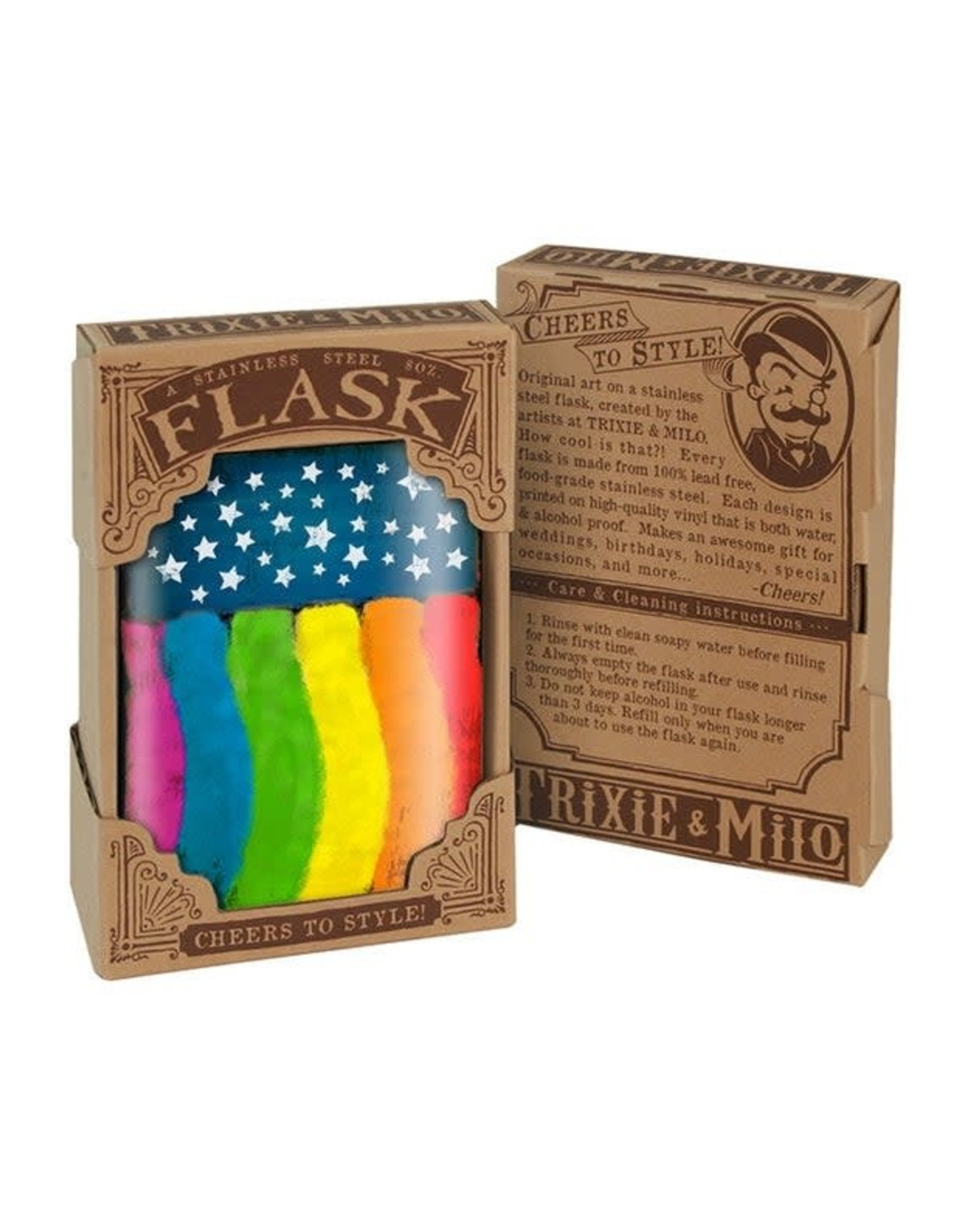Flask - Pride Flag
