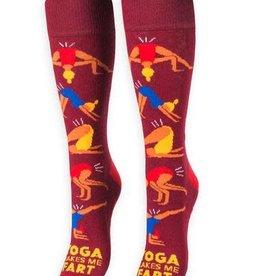 Socks (Unisex) - Yoga Makes Me Fart