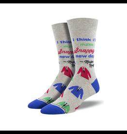Socks (Mens)  - Snappy Dresser Mister Rogers