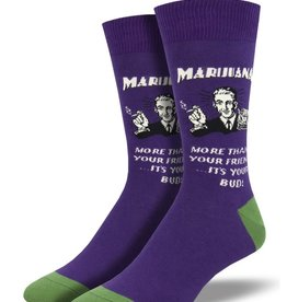 Socks (Mens)  - Marijuana