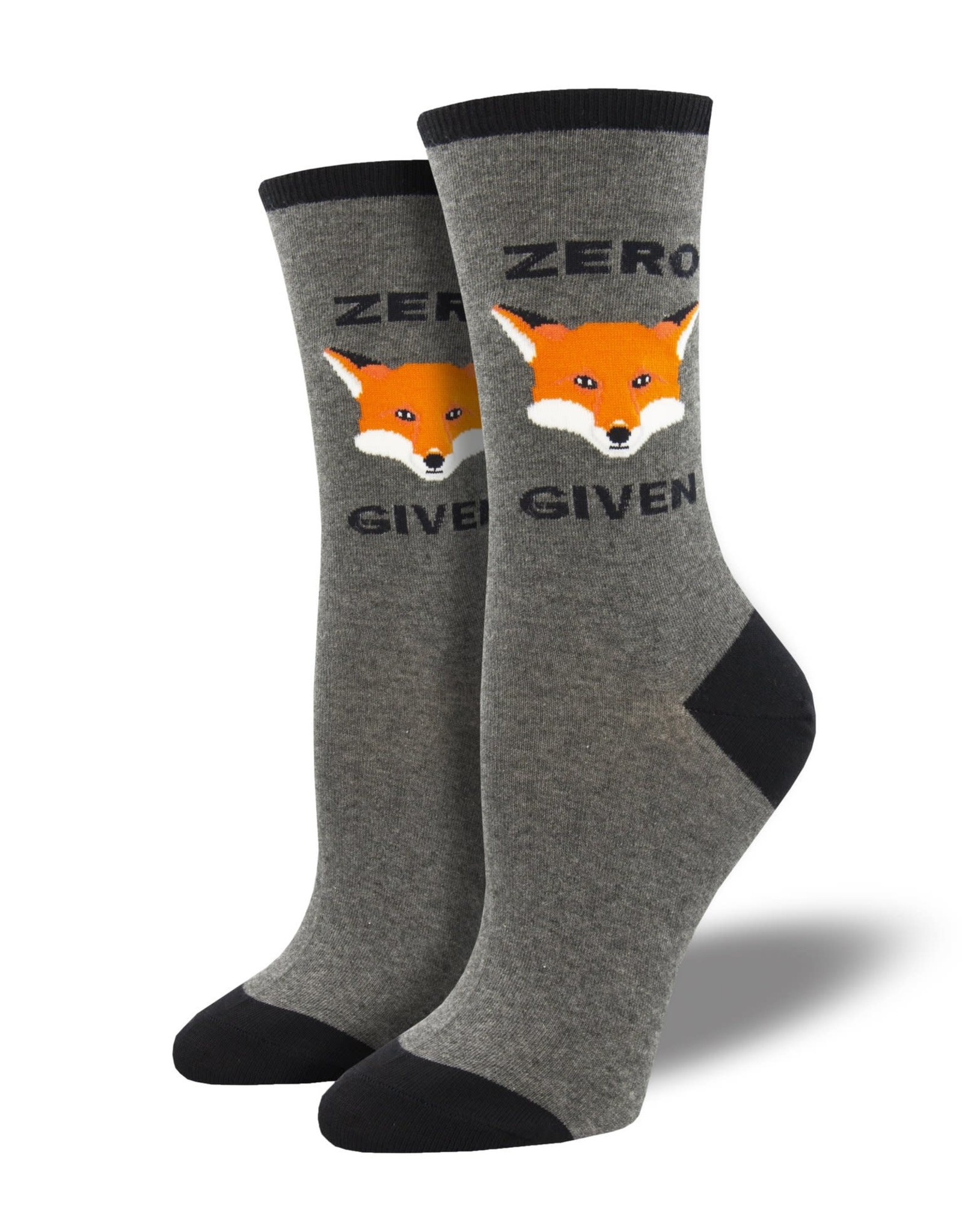 Socks (Womens) - Zero Fox Given