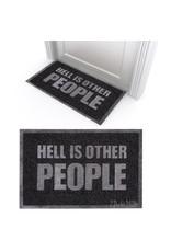 Door Mat - Hell Is Other People