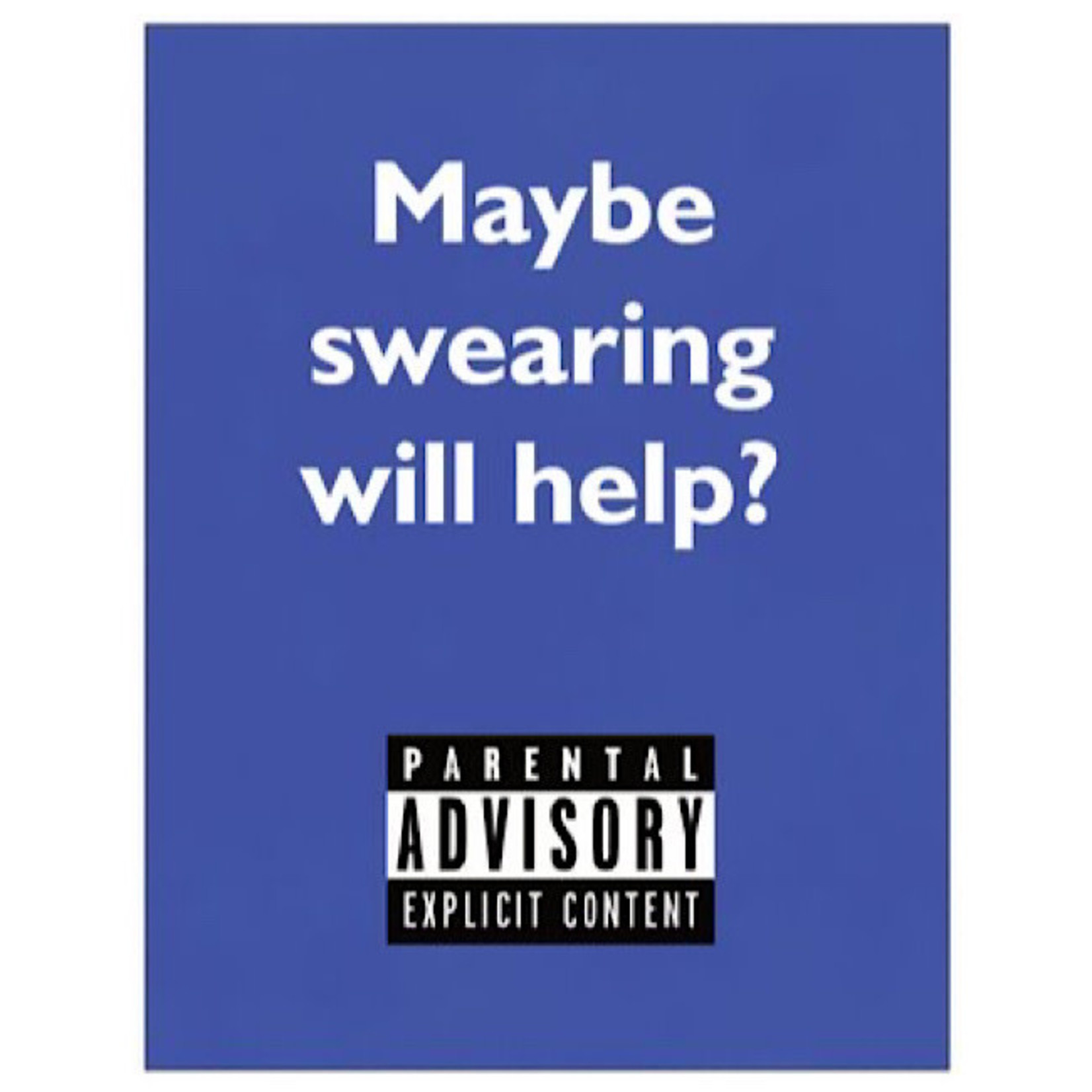 Bad Annie's Card #103 - Maybe Swearing Will Help