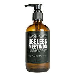 Soap (Liquid) - Wash Away Useless Meetings