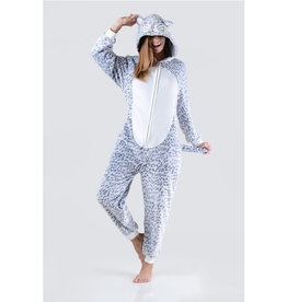 Onesie (Adult) - Leopard Cat