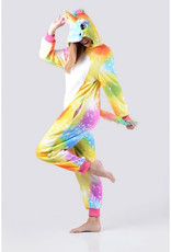 Onesie (Adult) - Rainbow Unicorn